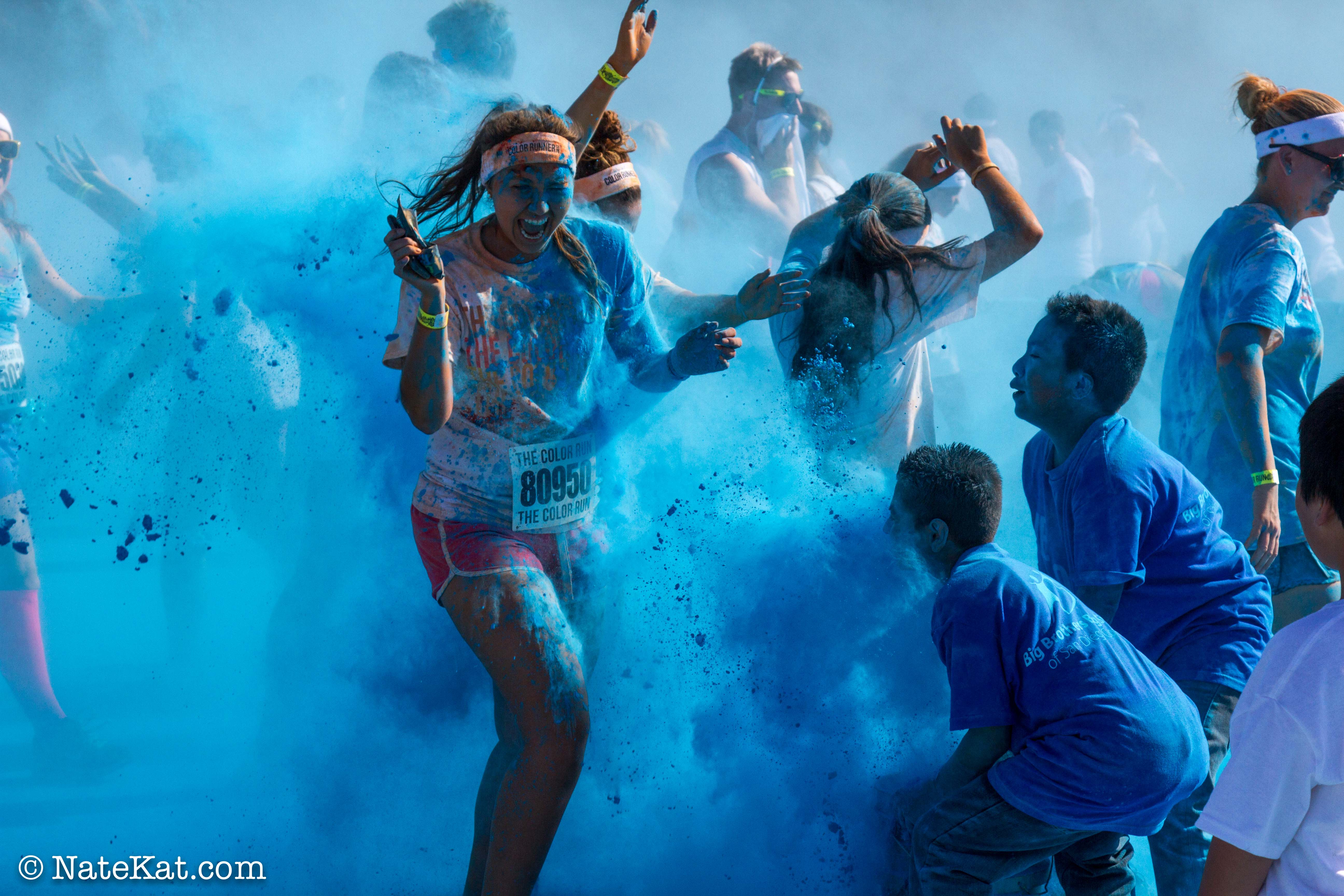 how to have a color run
